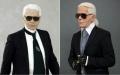 Karl Lagerfeld Wax Figure