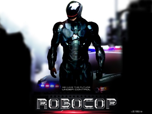 robocop movie 2014 poster wallpaper