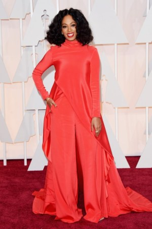 solange knowles in christian siriano